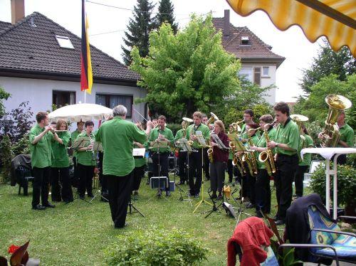 Im garten von gero dorda gaben wir vor allem österreichische klänge